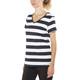 Bergans Bastøy Tee Women White/Navy Striped